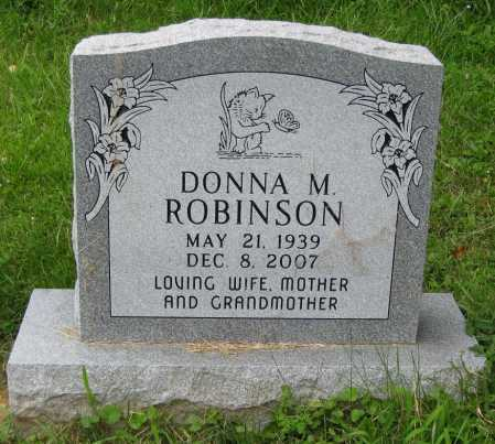 BOTTEICHER ROBINSON, DONNA M. - Juniata County, Pennsylvania | DONNA M. BOTTEICHER ROBINSON - Pennsylvania Gravestone Photos