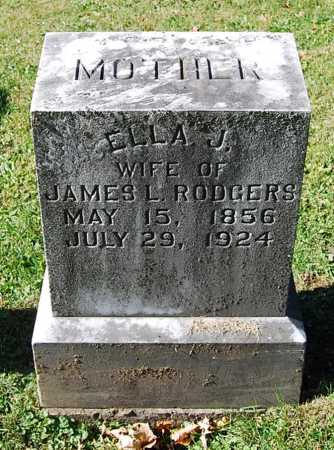"GOSHEN RODGERS, ELLEN ""ELLA"" JANE - Juniata County, Pennsylvania | ELLEN ""ELLA"" JANE GOSHEN RODGERS - Pennsylvania Gravestone Photos"
