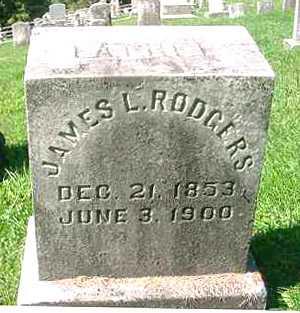 RODGERS, JAMES L. - Juniata County, Pennsylvania | JAMES L. RODGERS - Pennsylvania Gravestone Photos