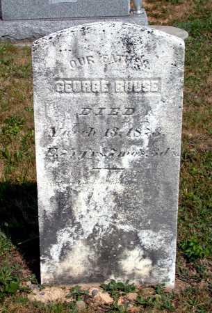 ROUSE, GEORGE - Juniata County, Pennsylvania | GEORGE ROUSE - Pennsylvania Gravestone Photos