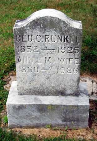 RUNKLE, ANNIE MISSOURI - Juniata County, Pennsylvania | ANNIE MISSOURI RUNKLE - Pennsylvania Gravestone Photos