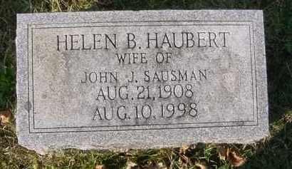 SAUSMAN, HELEN B. - Juniata County, Pennsylvania | HELEN B. SAUSMAN - Pennsylvania Gravestone Photos