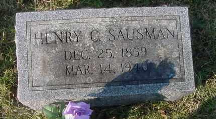 SAUSMAN, HENRY C. - Juniata County, Pennsylvania | HENRY C. SAUSMAN - Pennsylvania Gravestone Photos