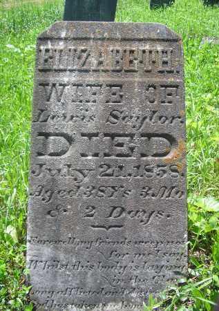 CROZIER SAYLOR, ELIZABETH - Juniata County, Pennsylvania | ELIZABETH CROZIER SAYLOR - Pennsylvania Gravestone Photos