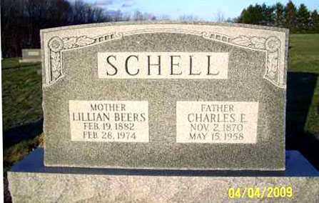 BEERS SCHELL, LILLIAN JULIA - Juniata County, Pennsylvania | LILLIAN JULIA BEERS SCHELL - Pennsylvania Gravestone Photos