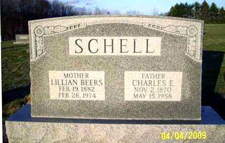 SCHELL, CHARLES E. - Juniata County, Pennsylvania | CHARLES E. SCHELL - Pennsylvania Gravestone Photos