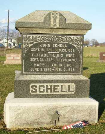 SCHELL, HANNAH - Juniata County, Pennsylvania | HANNAH SCHELL - Pennsylvania Gravestone Photos