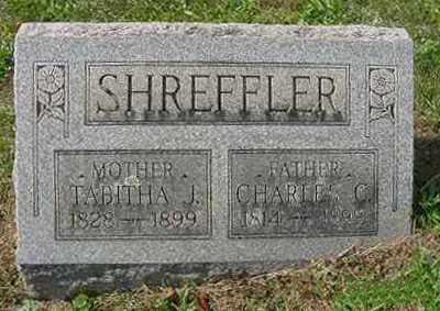 SHREFFLER, CHARLES C. - Juniata County, Pennsylvania | CHARLES C. SHREFFLER - Pennsylvania Gravestone Photos