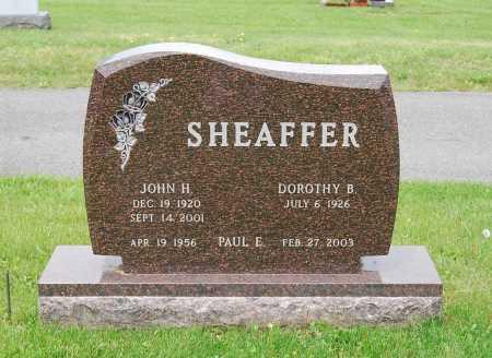 SHEAFFER, DOROTHY B. - Juniata County, Pennsylvania | DOROTHY B. SHEAFFER - Pennsylvania Gravestone Photos