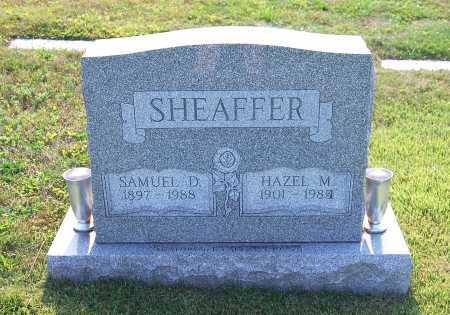 SHEAFFER, HAZEL M. - Juniata County, Pennsylvania | HAZEL M. SHEAFFER - Pennsylvania Gravestone Photos