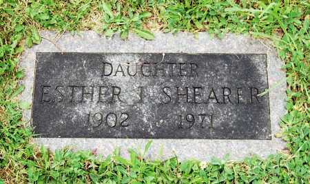 SHEARER, ESTHER I. - Juniata County, Pennsylvania | ESTHER I. SHEARER - Pennsylvania Gravestone Photos