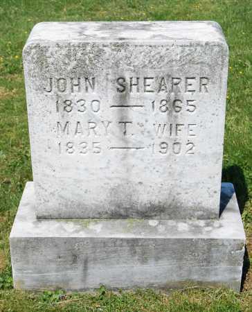 SHEARER, MARY T. - Juniata County, Pennsylvania   MARY T. SHEARER - Pennsylvania Gravestone Photos