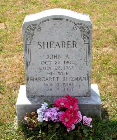 SHEARER, MARGARET - Juniata County, Pennsylvania | MARGARET SHEARER - Pennsylvania Gravestone Photos