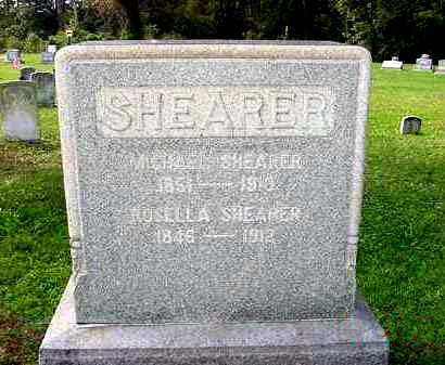 SHEARER, MICHAEL - Juniata County, Pennsylvania | MICHAEL SHEARER - Pennsylvania Gravestone Photos