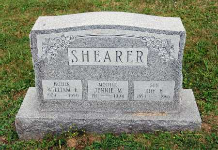 CASNER SHEARER, JENNIE M. - Juniata County, Pennsylvania | JENNIE M. CASNER SHEARER - Pennsylvania Gravestone Photos
