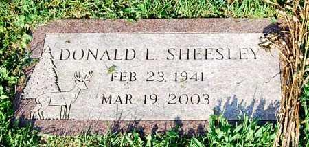 SHEESLEY, DONALD L. - Juniata County, Pennsylvania | DONALD L. SHEESLEY - Pennsylvania Gravestone Photos