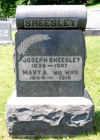 SHEESLEY, JOSEPH - Juniata County, Pennsylvania   JOSEPH SHEESLEY - Pennsylvania Gravestone Photos