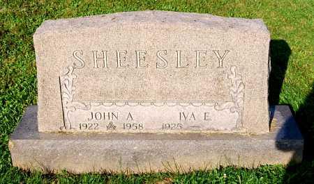 SHEESLEY, IVA E. - Juniata County, Pennsylvania   IVA E. SHEESLEY - Pennsylvania Gravestone Photos