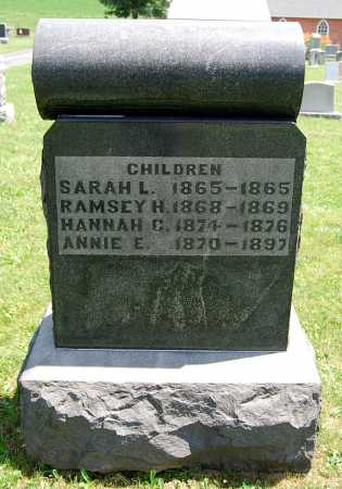 SHEESLEY, ANNIE E. - Juniata County, Pennsylvania | ANNIE E. SHEESLEY - Pennsylvania Gravestone Photos