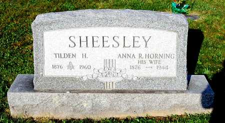 SHEESLEY, TILDEN HENDRICKS - Juniata County, Pennsylvania | TILDEN HENDRICKS SHEESLEY - Pennsylvania Gravestone Photos