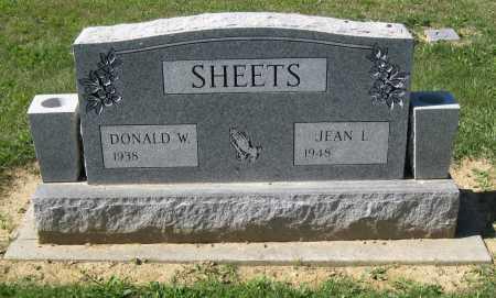 SHEETS, DONALD W - Juniata County, Pennsylvania | DONALD W SHEETS - Pennsylvania Gravestone Photos