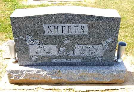 SHEETS, DAVID L. - Juniata County, Pennsylvania | DAVID L. SHEETS - Pennsylvania Gravestone Photos