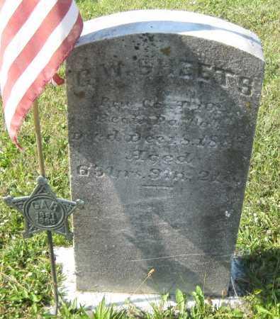 "SHEETS, G. W. ""WASHINGTON"" - Juniata County, Pennsylvania | G. W. ""WASHINGTON"" SHEETS - Pennsylvania Gravestone Photos"