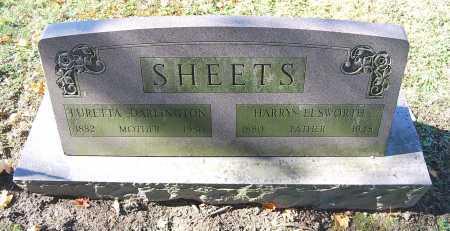 SHEETS, LURETTA - Juniata County, Pennsylvania | LURETTA SHEETS - Pennsylvania Gravestone Photos