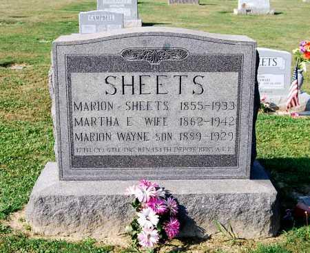 SHEETS, MARION WAYNE - Juniata County, Pennsylvania | MARION WAYNE SHEETS - Pennsylvania Gravestone Photos