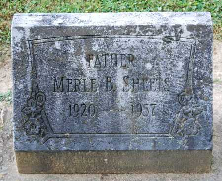SHEETS, MERLE BLAIR - Juniata County, Pennsylvania | MERLE BLAIR SHEETS - Pennsylvania Gravestone Photos