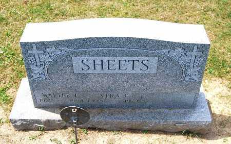 SHEETS, WALTER L. - Juniata County, Pennsylvania | WALTER L. SHEETS - Pennsylvania Gravestone Photos