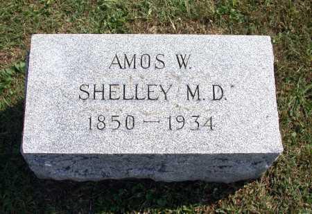 SHELLEY, AMOS W. - Juniata County, Pennsylvania | AMOS W. SHELLEY - Pennsylvania Gravestone Photos