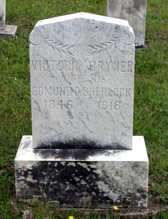 BRYNER SHERLOCK, VICTORIA - Juniata County, Pennsylvania | VICTORIA BRYNER SHERLOCK - Pennsylvania Gravestone Photos