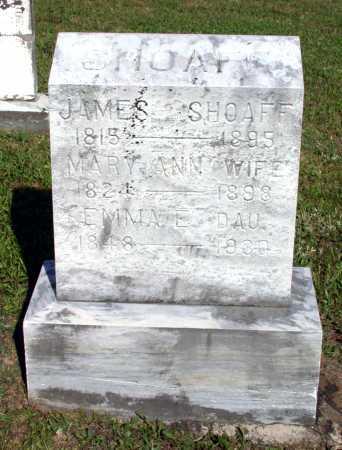 SHOAFF, JAMES - Juniata County, Pennsylvania | JAMES SHOAFF - Pennsylvania Gravestone Photos