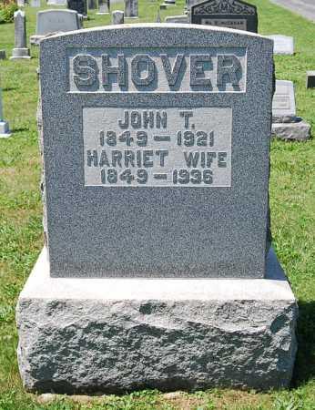 AUGHEY SHOVER, HARRIET - Juniata County, Pennsylvania | HARRIET AUGHEY SHOVER - Pennsylvania Gravestone Photos