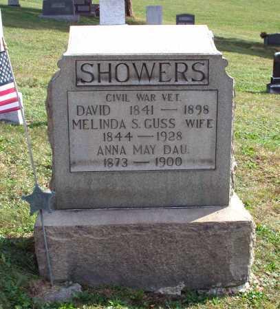 GUSS SHOWERS, MELINDA S. - Juniata County, Pennsylvania   MELINDA S. GUSS SHOWERS - Pennsylvania Gravestone Photos