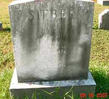 SIEBER, BANKS R. - Juniata County, Pennsylvania | BANKS R. SIEBER - Pennsylvania Gravestone Photos