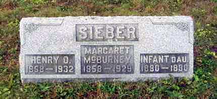 SIEBER, HENRY O. - Juniata County, Pennsylvania | HENRY O. SIEBER - Pennsylvania Gravestone Photos