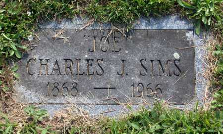"SIMS, CHARLES J. ""JOE"" - Juniata County, Pennsylvania 