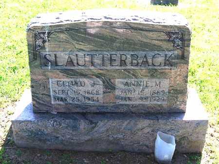 COLDREN SLAUTTERBACK, ANNIE M. - Juniata County, Pennsylvania   ANNIE M. COLDREN SLAUTTERBACK - Pennsylvania Gravestone Photos