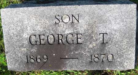 SNYDER, GEORGE T. - Juniata County, Pennsylvania | GEORGE T. SNYDER - Pennsylvania Gravestone Photos