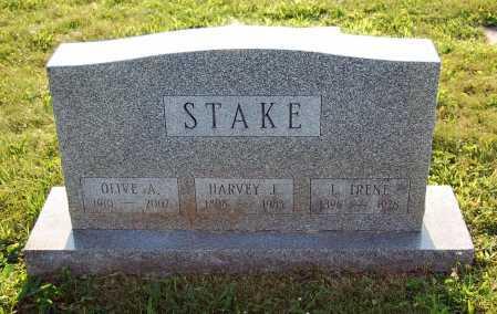 STAKE, HARVEY J. - Juniata County, Pennsylvania | HARVEY J. STAKE - Pennsylvania Gravestone Photos