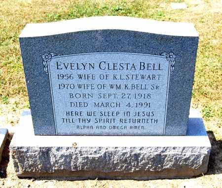 BELL, EVELYN CLESTA - Juniata County, Pennsylvania | EVELYN CLESTA BELL - Pennsylvania Gravestone Photos