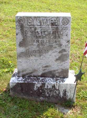 STEWART, WILLIAM - Juniata County, Pennsylvania | WILLIAM STEWART - Pennsylvania Gravestone Photos