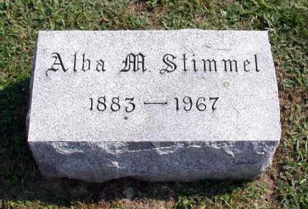 MILLER STIMMEL, ALBA - Juniata County, Pennsylvania | ALBA MILLER STIMMEL - Pennsylvania Gravestone Photos