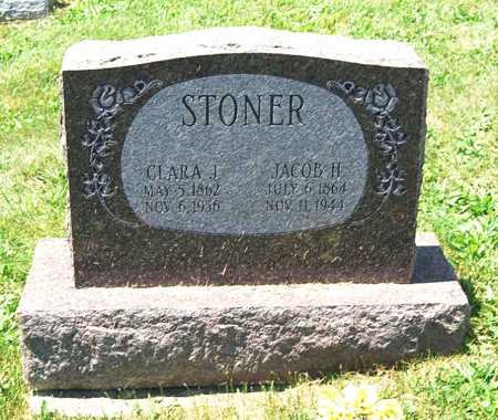 BENNETT STONER, CLARA JANE - Juniata County, Pennsylvania | CLARA JANE BENNETT STONER - Pennsylvania Gravestone Photos
