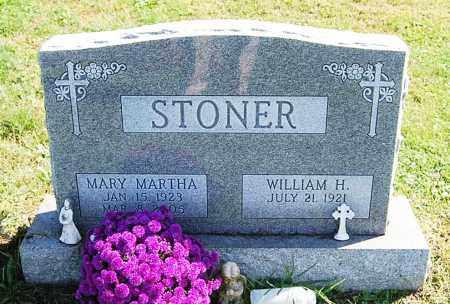 AUKER STONER, MARY MARTHA - Juniata County, Pennsylvania | MARY MARTHA AUKER STONER - Pennsylvania Gravestone Photos