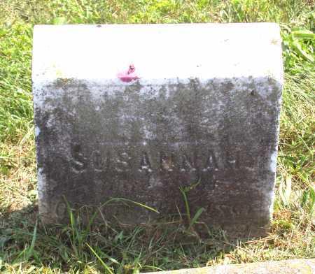 STRAWSER, SUSANNAH - Juniata County, Pennsylvania | SUSANNAH STRAWSER - Pennsylvania Gravestone Photos