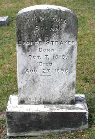 STRAYER, SUSAN - Juniata County, Pennsylvania   SUSAN STRAYER - Pennsylvania Gravestone Photos