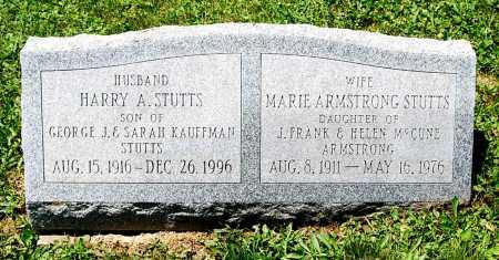 STUTTS, HARRY A. - Juniata County, Pennsylvania   HARRY A. STUTTS - Pennsylvania Gravestone Photos